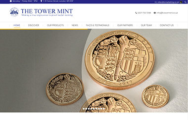 The Tower Mint <i>Coin Minters</i>